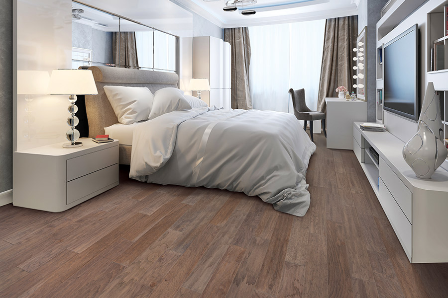Contemporary wood flooring in Stafford, VA from The Carpet Co.