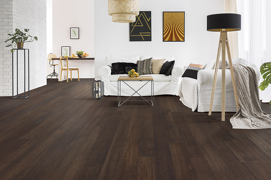 Contemporary wood flooring in Crescent City, IL from Kingdon's Home Center