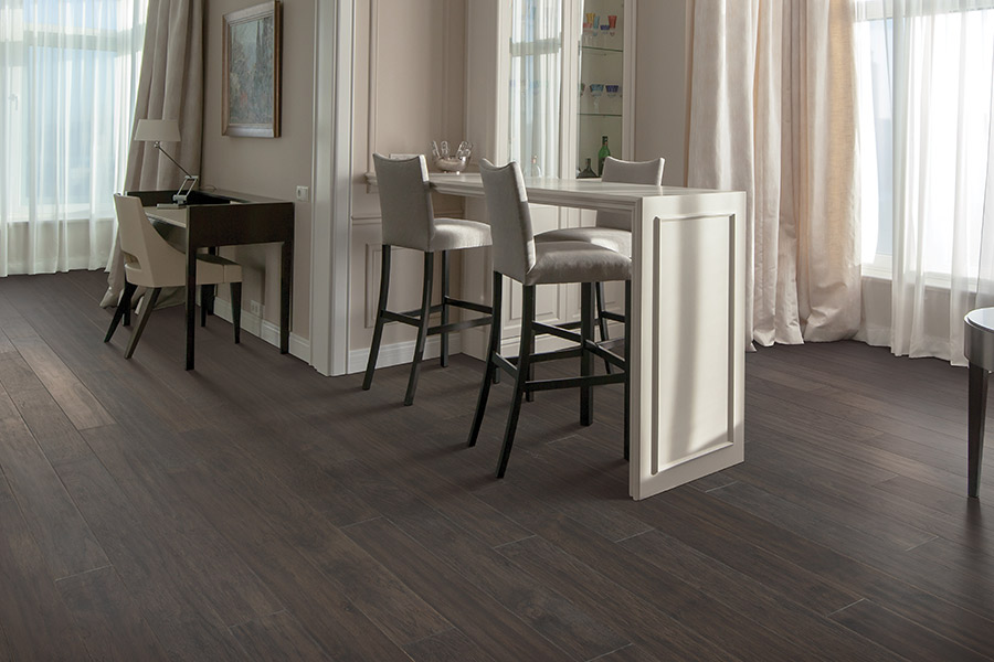 Contemporary wood flooring in Germantown, WI from Carpet City