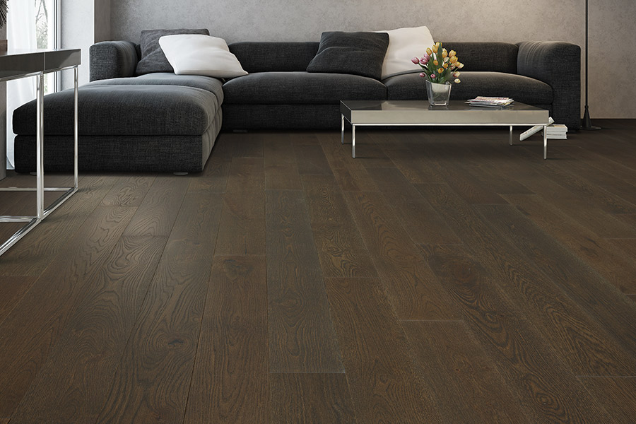 Contemporary wood flooring in Kelowna, BC from Bridgeport Floors