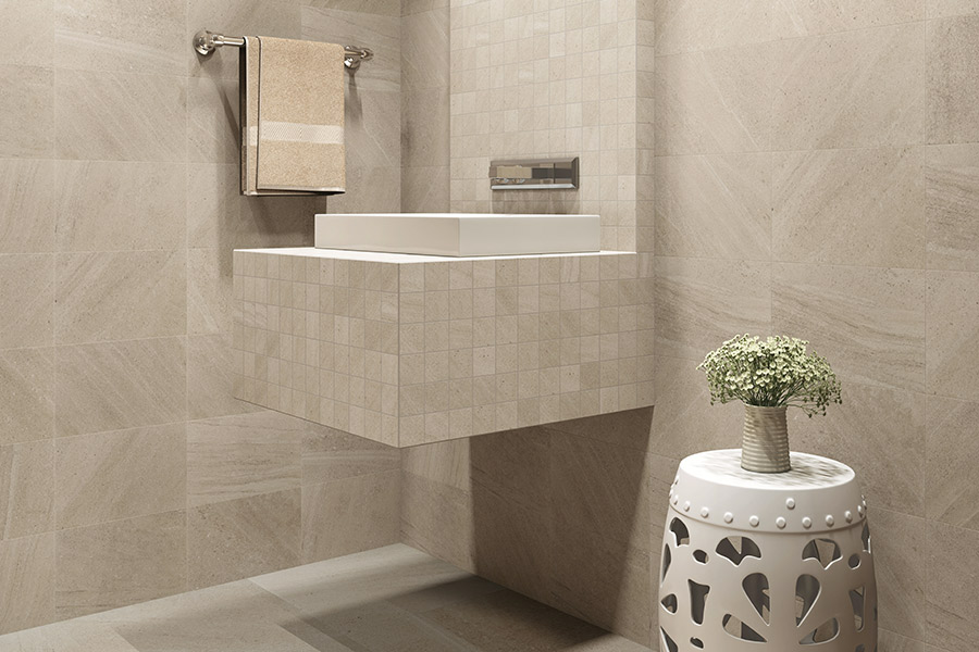 Custom tile bathrooms in Fort Wayne, IN from Coleman's Flooring & Blinds