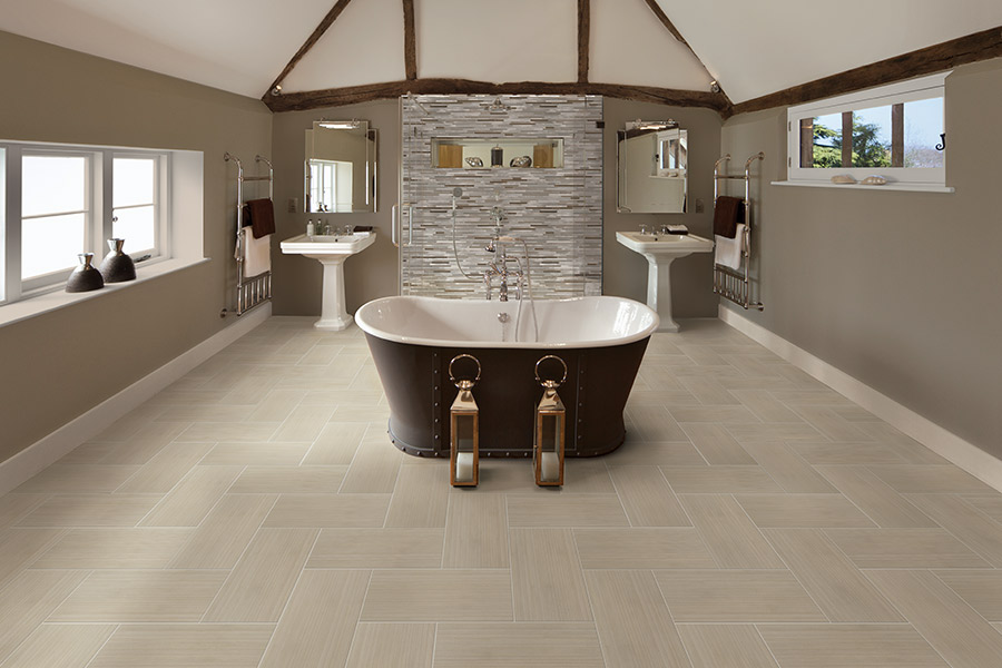 Custom tile bathrooms in Bismarck, ND from Carpet World Bismarck