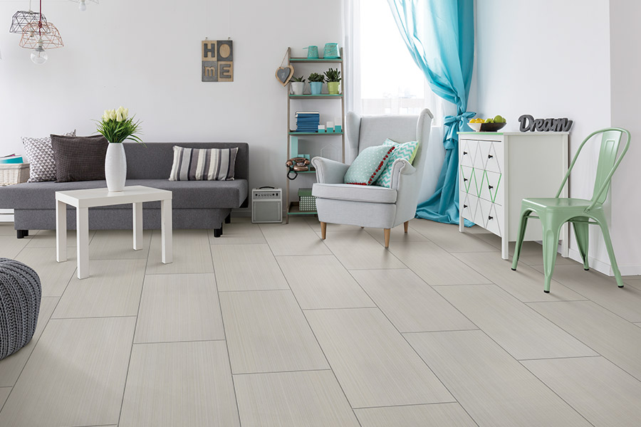 Wood look tile flooring in Madison, WI from Bisbee's Flooring Center
