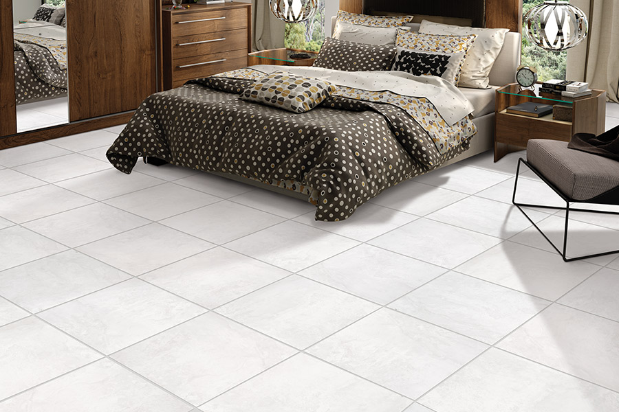 Tile floor installation in Sugar Land, TX from Carpet Giant