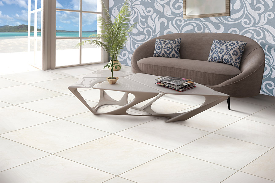 Tile floor installation in West Fargo, ND from Carpet World