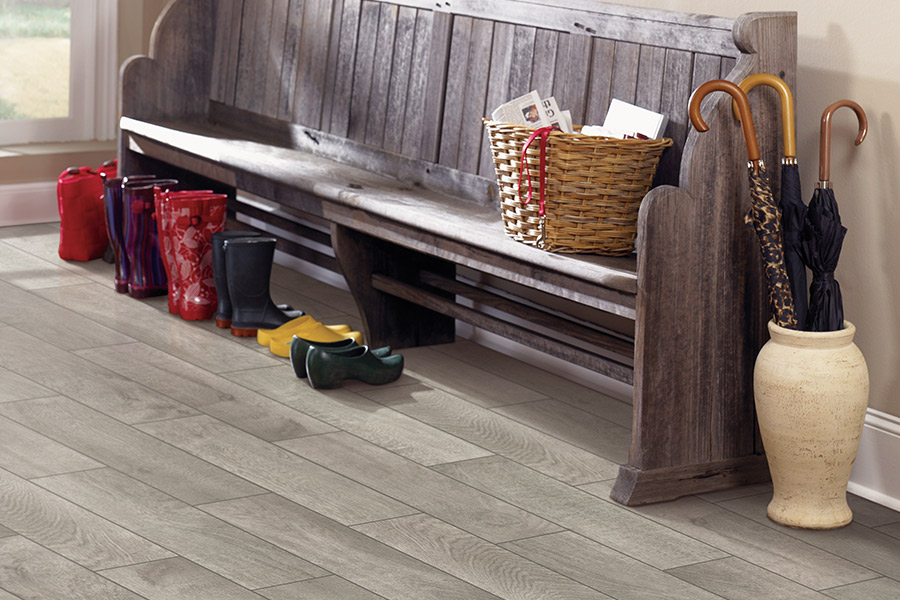Wood look tile flooring in Gainesville, FL from KLC Floors