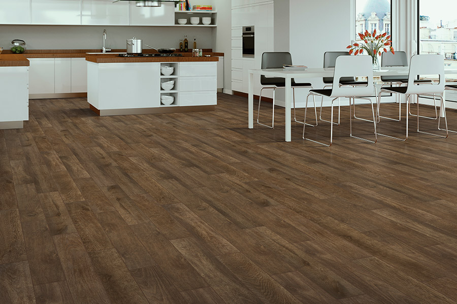 Wood look tile flooring in Long Beach from The Finishing Touch Floors, Inc.