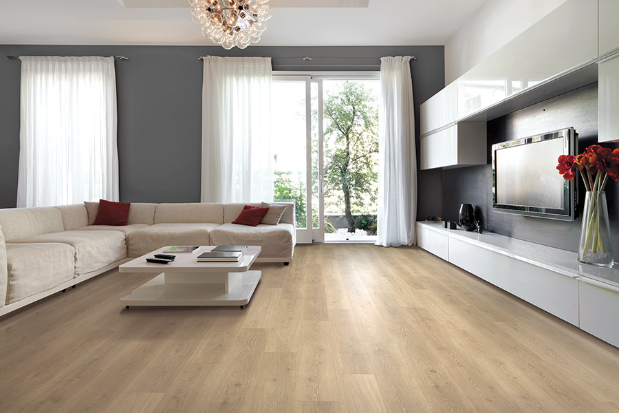Wood look laminate flooring in Fullerton, CA from Incredible Carpets & Flooring