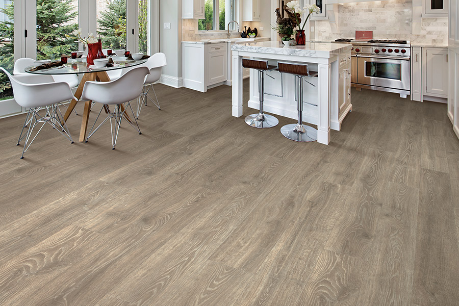 Laminate floor accents in Littleton, CO from FH Flooring