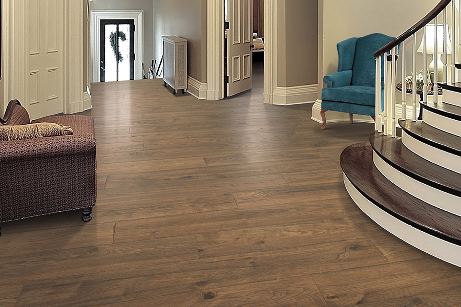 Wood look laminate flooring in Crockett, VA from Wythe Carpet Sales and Service