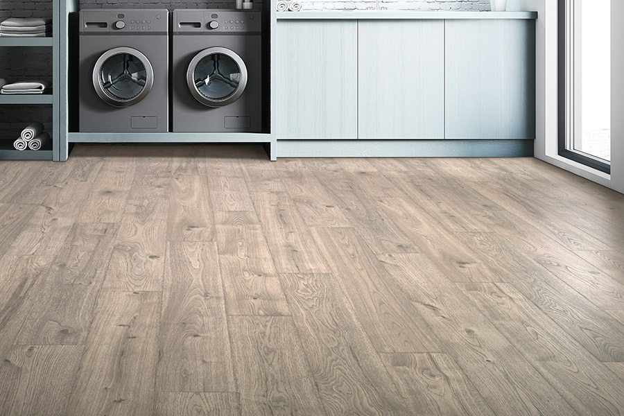 Wood look laminate flooring in The Woodlands, TX from Carpet Giant