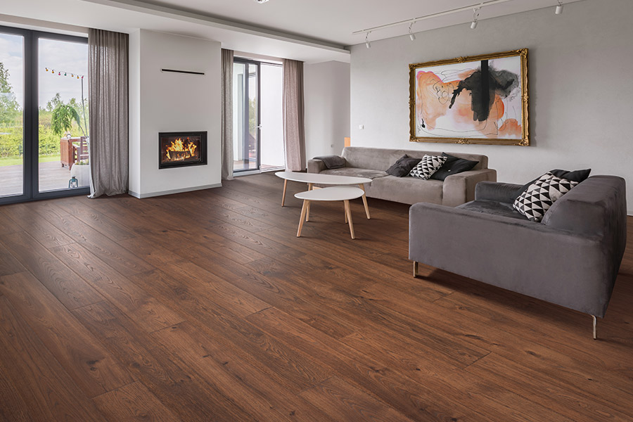 Wood look luxury vinyl plank flooring in Essex Junction, VT from Main Street Floor Covering