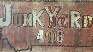 JunkYard 406 located inside Montana Flooring Liquidators