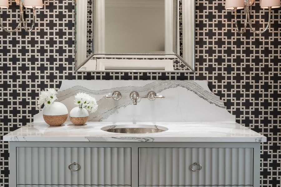 Bathroom counters in Hallandale, FL from Extreme Surfaces Design Center
