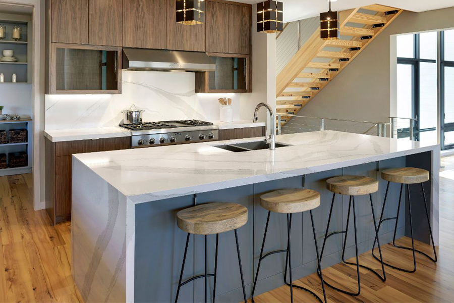 Modern countertops in Richmond, MI from Richmond Interiors