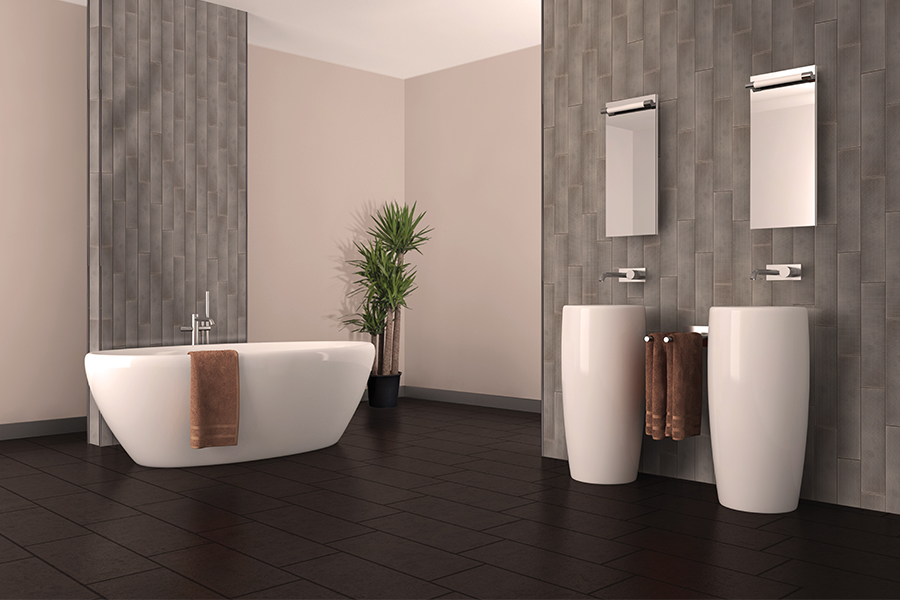 Custom tile bathrooms in Albuquerque, NM from Stonewood Flooring