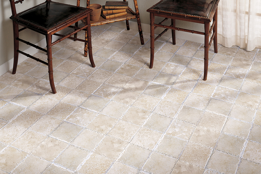 Modern natural stone flooring in Southlake, TX from StarFloors