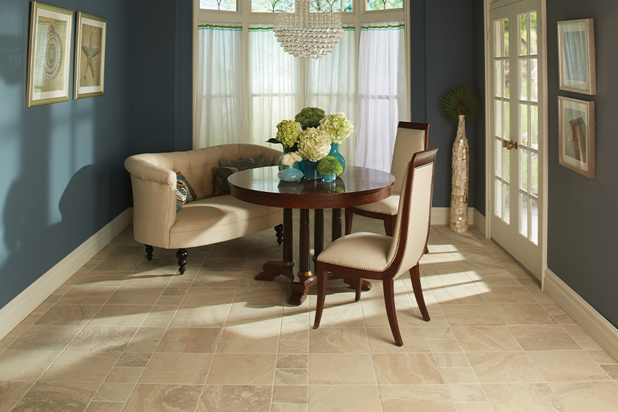 Natural stone floors in Poynette, WI from Freedom Carpeting