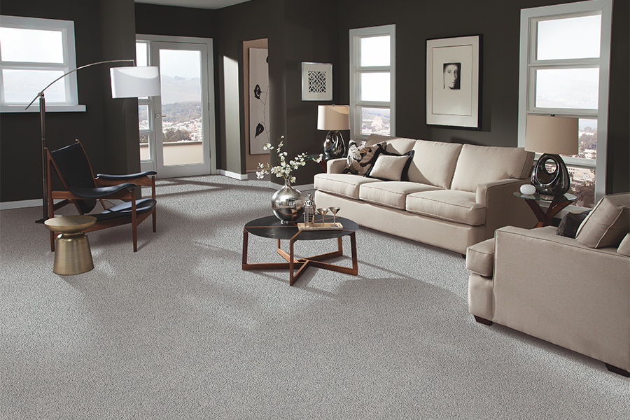 Beautiful textured carpet in Smithville, TN from L&M Floors