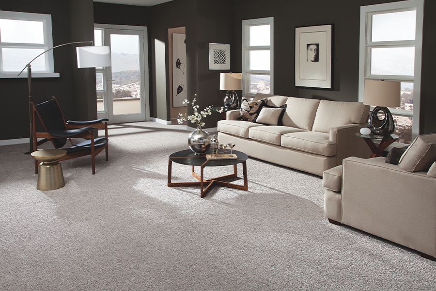 Beautiful textured carpet in Phoenix, AZ from Cornerstone Flooring Brokers