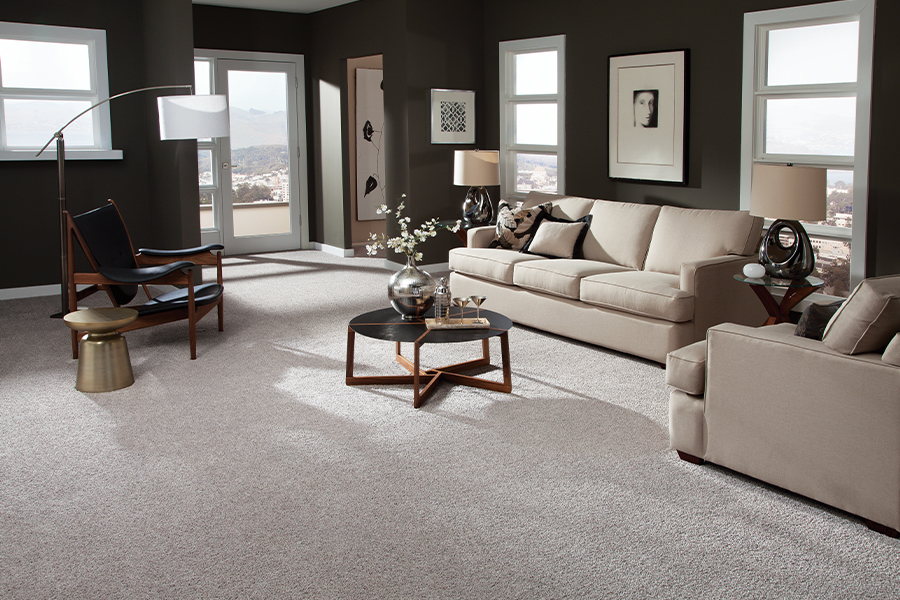 Beautiful textured carpet in Madison, WI from Majestic Floors and More LLC