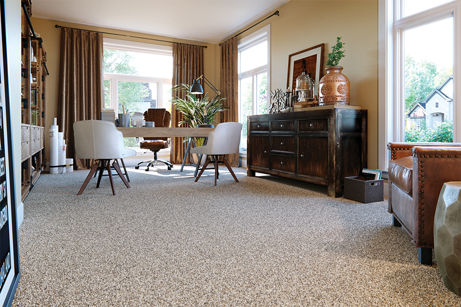 Beautiful textured carpet in Bradenton, FL from Paradise Floors and More