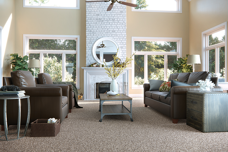 Beautiful textured carpet in Rock Island, IL from Floorcrafters - Moline