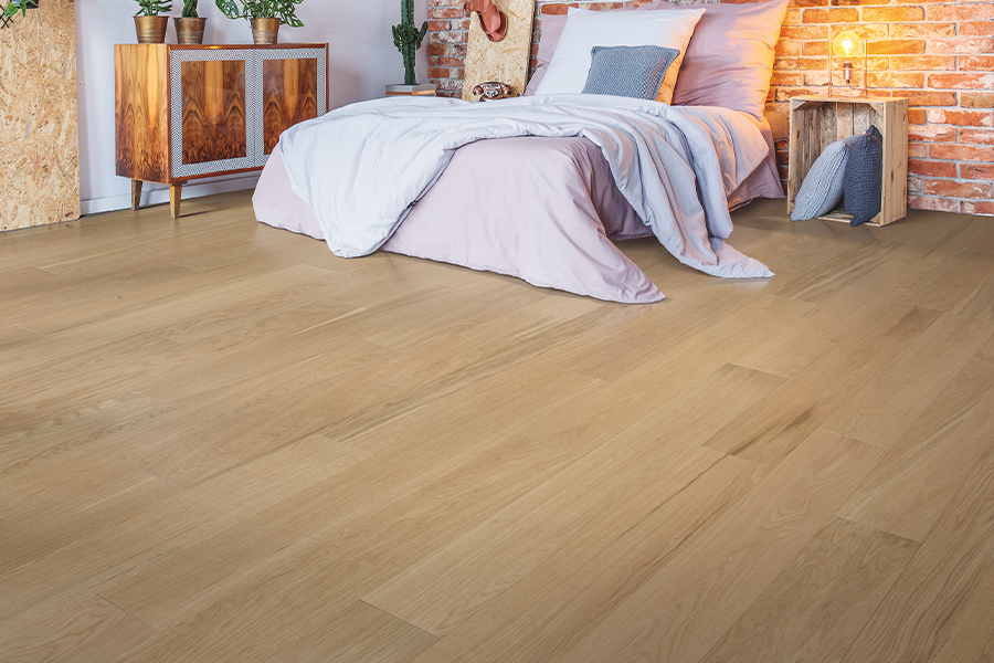 Contemporary wood flooring in Rocklin, CA from Rick's Carpet Care