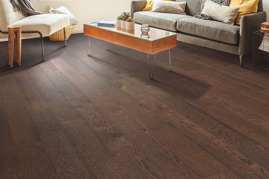 Contemporary wood flooring in Jasper, AL from AL - GA Carpet