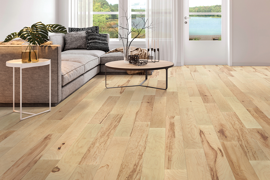 Contemporary wood flooring in Tift County, GA from South Georgia Floors