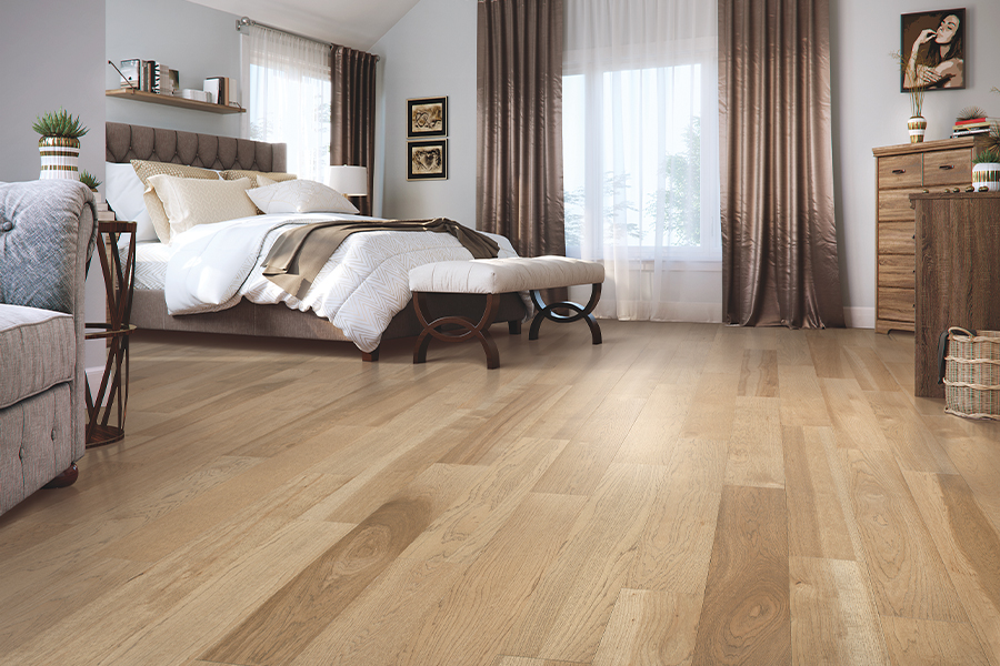 Wood floor installation in Anaheim, CA from 55 Flooring