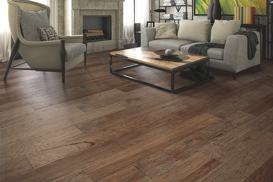 Contemporary wood flooring in Bremerton, WA from Emerald Installation