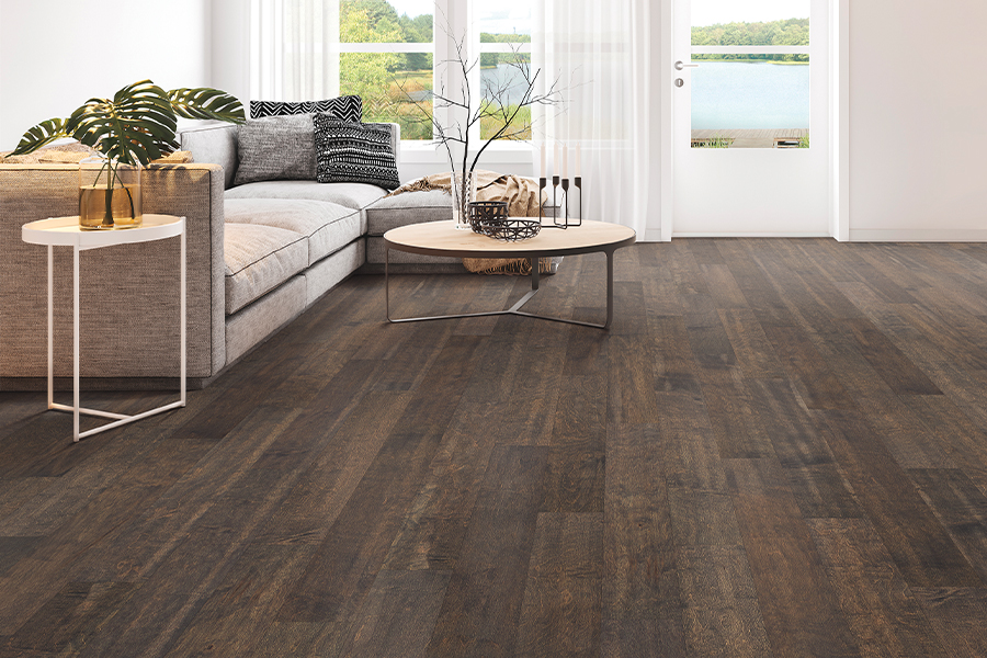 Contemporary wood flooring in Clute, TX from Zimmerle Floors