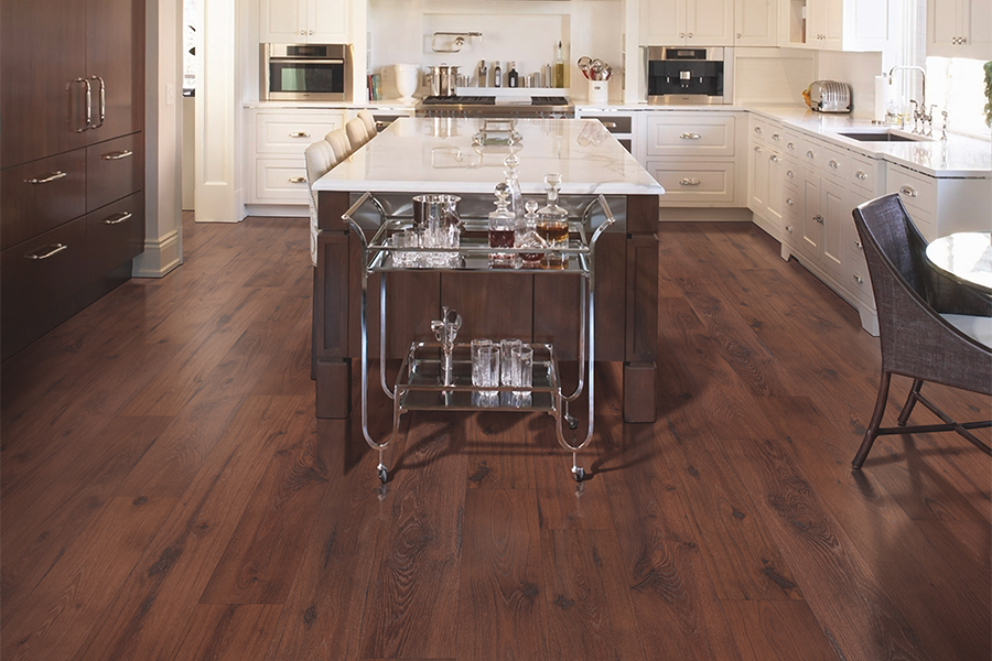 Laminate floor accents in Port Orange, FL from Trott's Carpet
