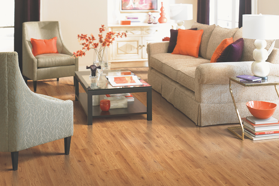 Laminate floor accents in Jefferson, IA from J.P. Flooring