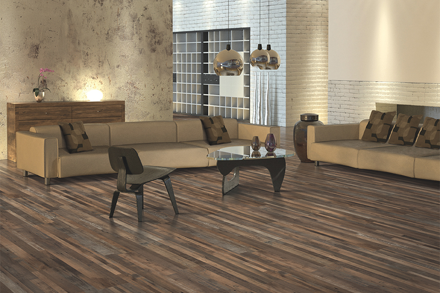 Laminate floor accents in Irvine, CA from 55 Flooring