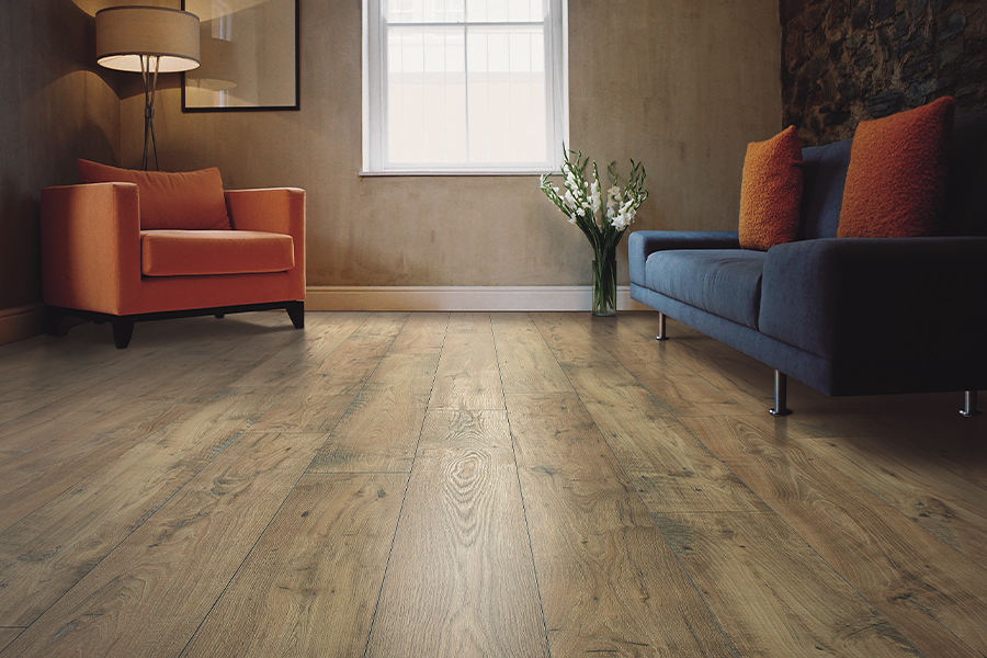 Laminate floor accents in Fontana, CA from Perry's Complete Floor