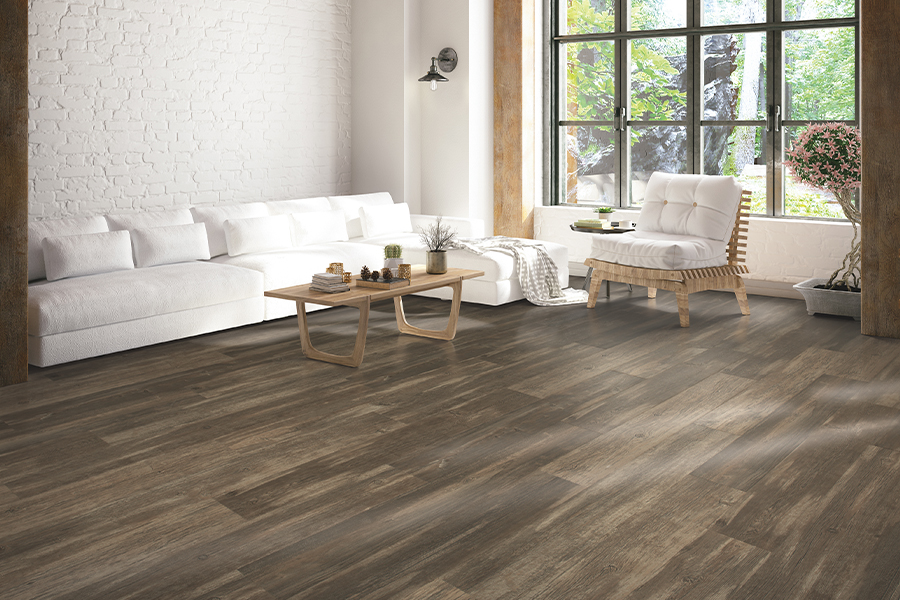 Wood look laminate flooring in New Braunfels, TX from Floor Country