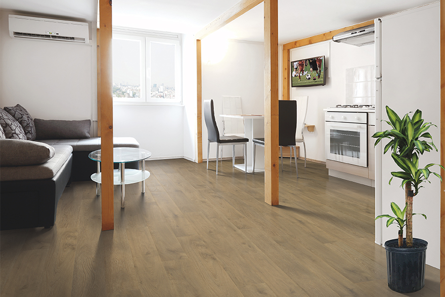Family friendly laminate floors in Baldwin Park, CA from Nemeth Family Interiors