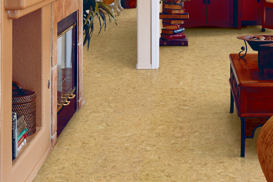Eco-friendly flooring options such as cork in Brewer, ME from Dickel Floor Supply