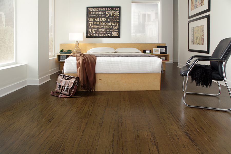 Wood look vinyl sheet flooring in Karnes County, TX from Wilton's Flooring