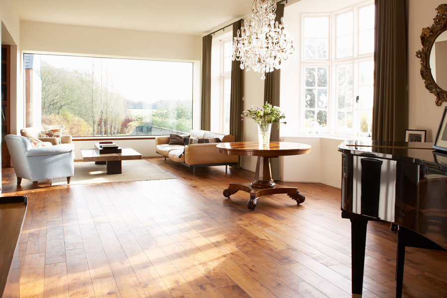 Contemporary wood flooring in Santa Clara, CA from Floor Depot
