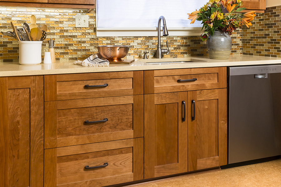 Modern cabinets in Anacortes, WA from Flooring Connections
