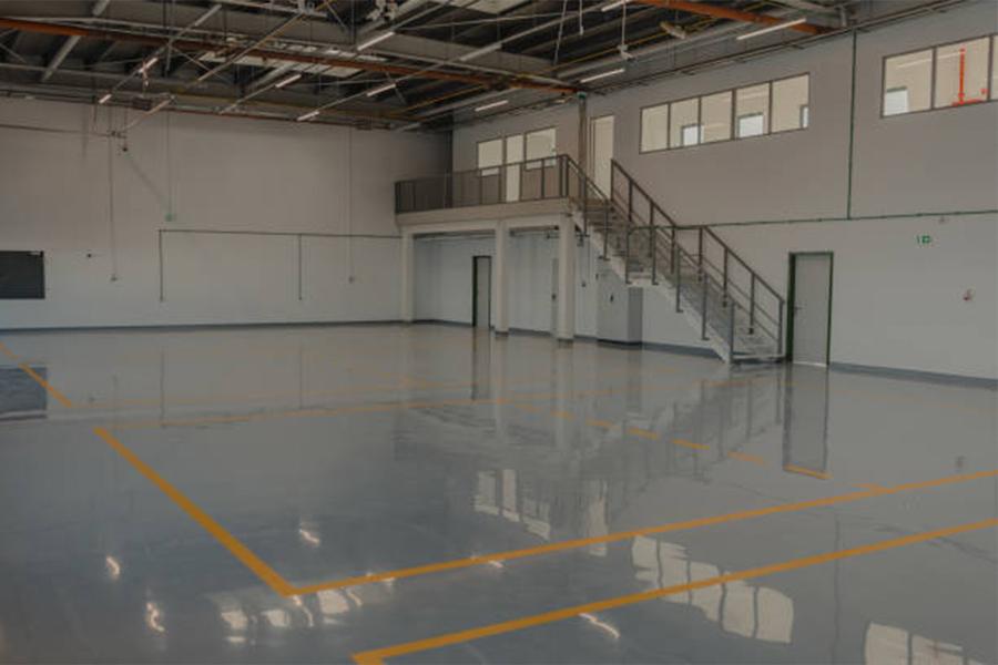 Epoxy flooring in El Dorado Hills, CA from On Point Flooring