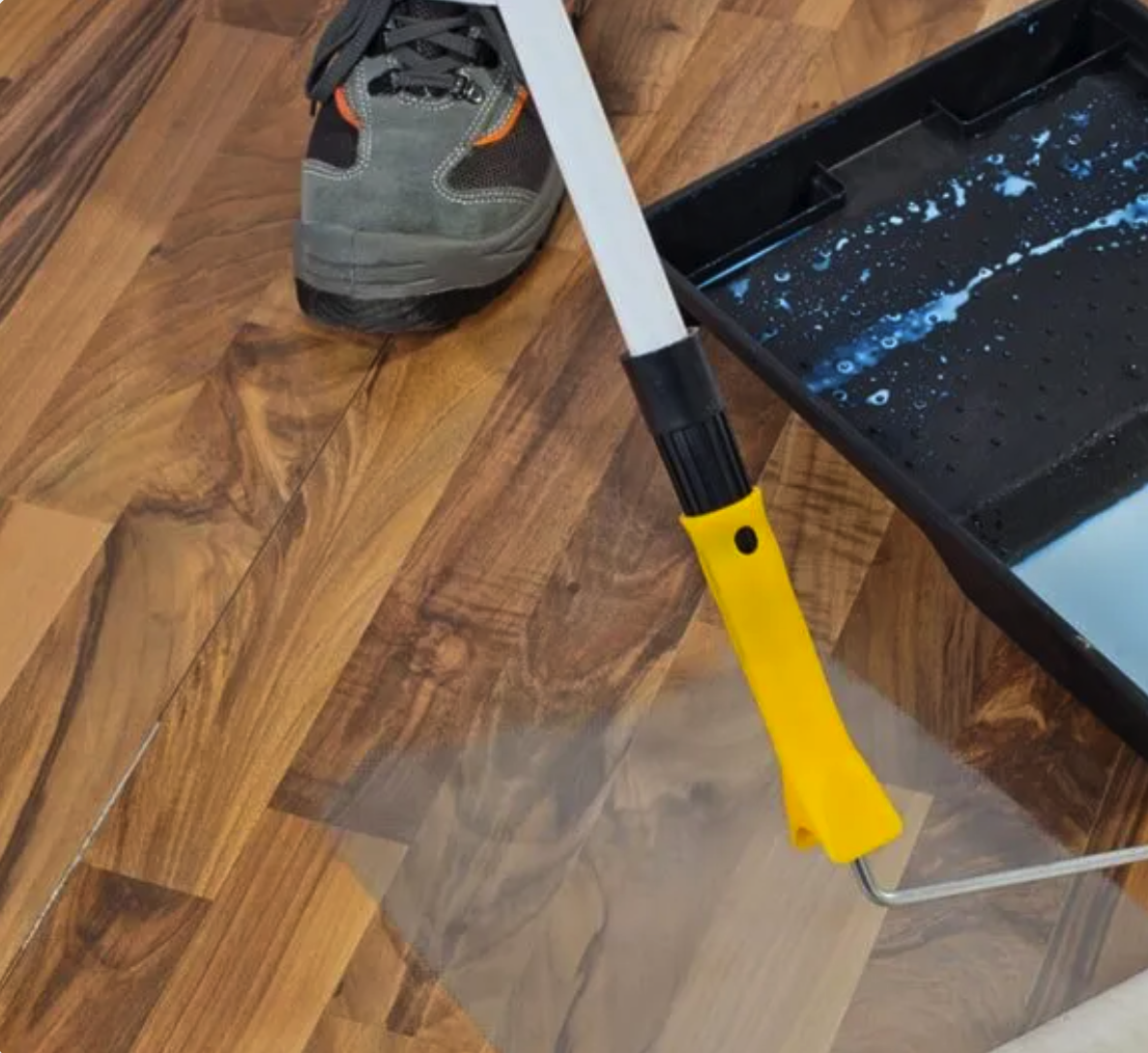 Hardwood refinishing in Charlotte, NC from Space Floors
