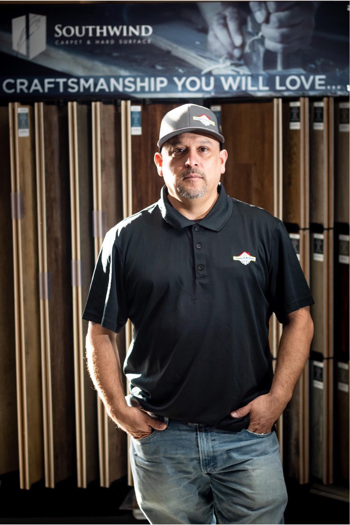 George Lucio - Owner of Floors 2 Ur Doors