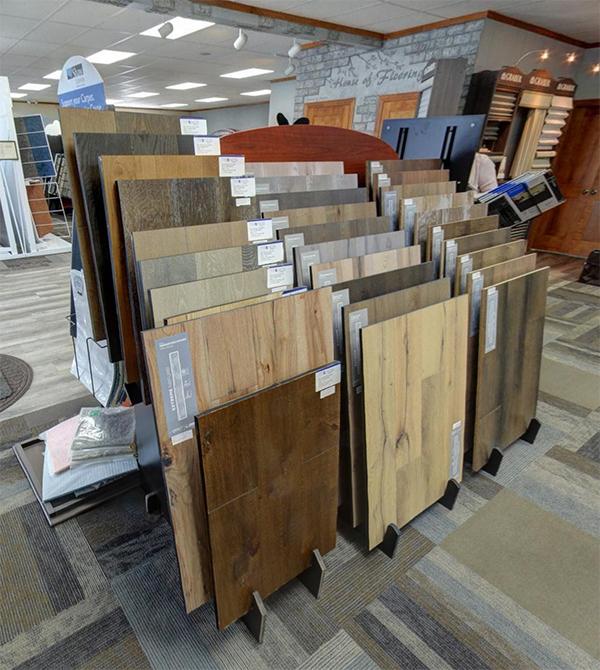 Flooring shop serving the Appleton, WI area