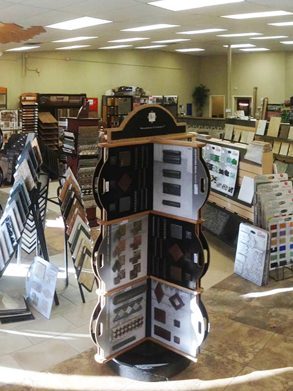 Flooring shop serving the Fayetteville, AR area
