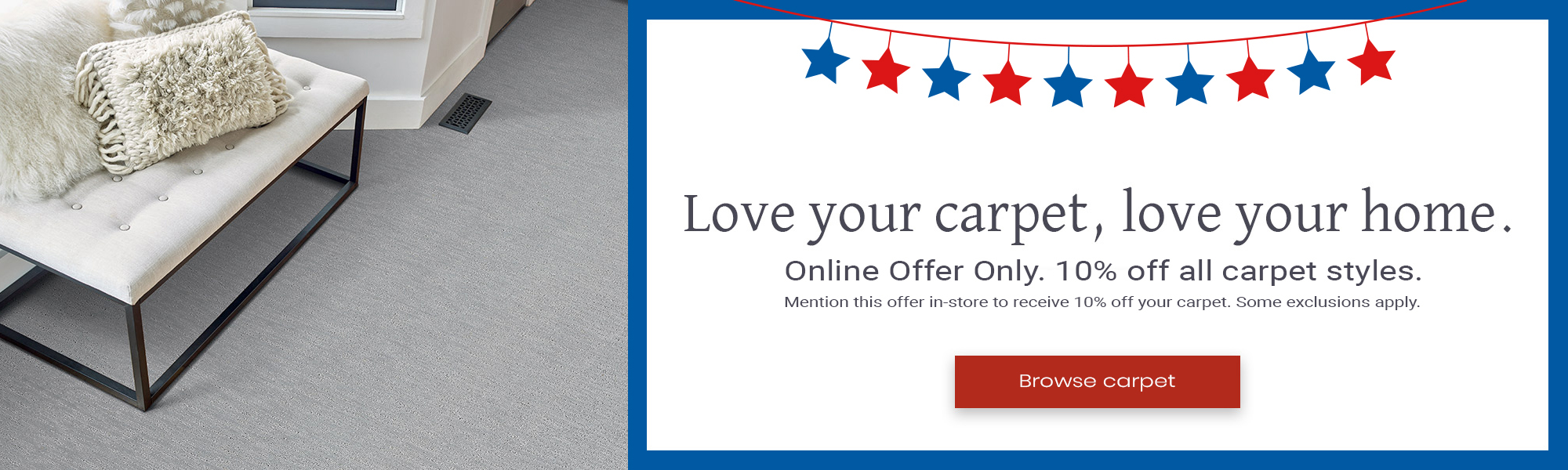 Shaw Carpet Sale at Appleton Carpetland USA