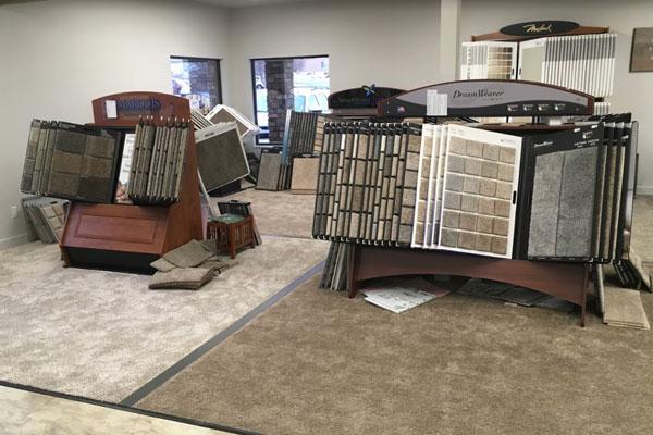 Flooring showroom serving the Cedar City, UT area